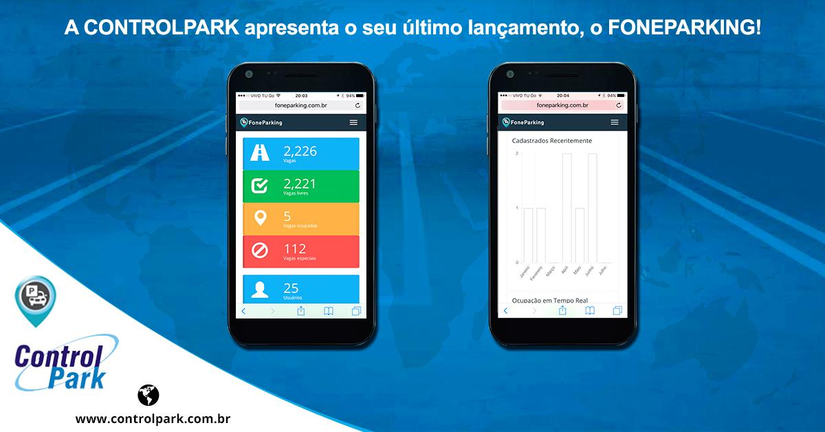 A CONTROLPARK apresenta o seu último lançamento, o FONEPARKING!